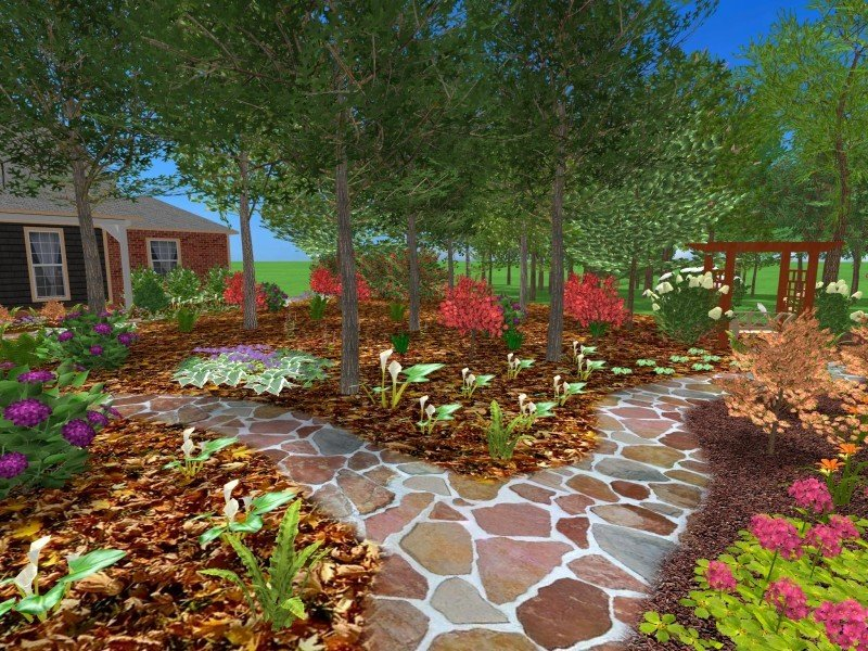 3d landscape designs for Garden design 3d online
