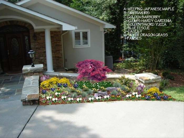 Acworth Georgia Subdivision Entrance Before After