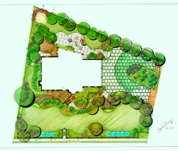 Master plan drawings for Best apps for garden and landscaping designs