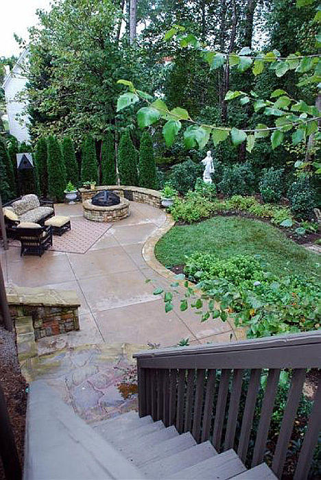 Patio Landscaping Duluth Georgia
