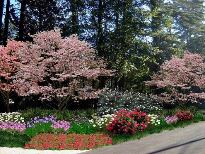 Landscape design cost per hour for How much does it cost to landscape a front yard