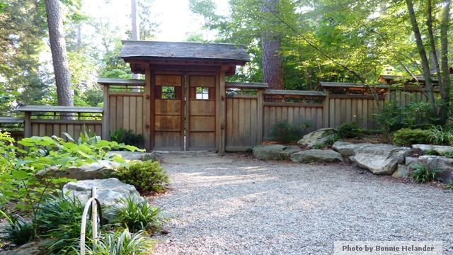 The Entrance To This Japanese Garden  Part 33