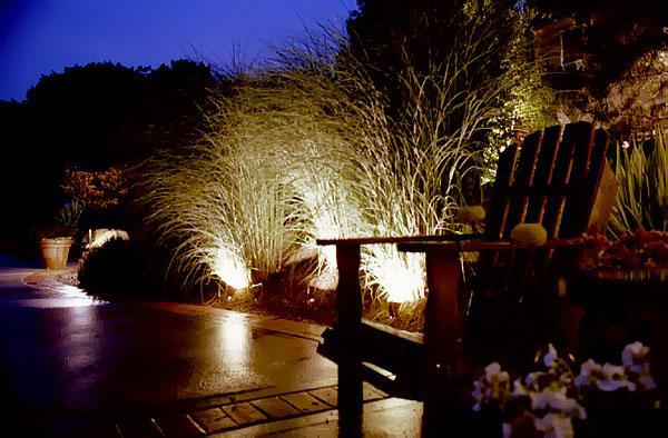 Silhouetting (right) is when lights are placed behind trees architectural elements or other objects so they stand out before a wall fence ... & Atlanta Landscape Lighting azcodes.com