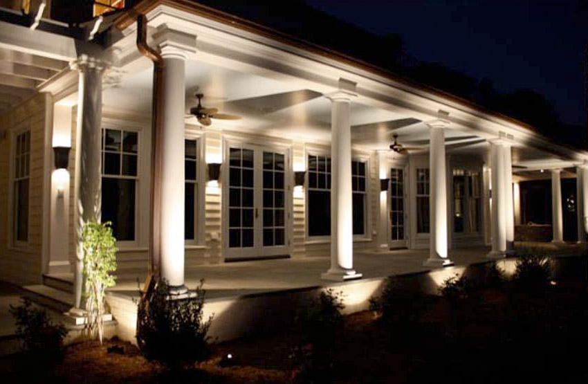 Botanica Atlanta | Landscape Design Construction u0026 Maintenance : home exterior lighting - azcodes.com